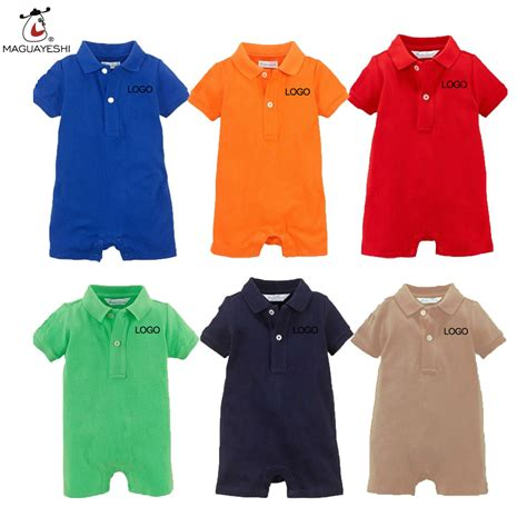 Rpl2003d Setelan Polo Baby Boy Sale 2016 summer newborn baby rompers cotton polo romper baby boys clothes newborn jumpsuit