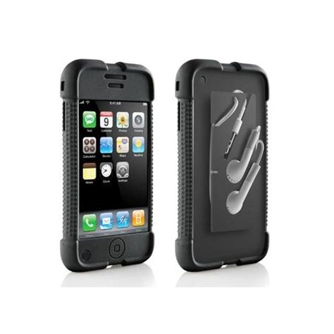 dlo jam jacket silicone skin cover black for iphone 1st generation only ebay