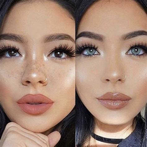 colored contacts for before and after solotica contact lenses hidrocor ocre solotica