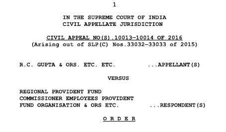 amendments in provident fund epf eps edli wef 01 09 2014 how to get higher eps pension rules scenarios court