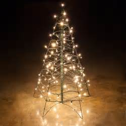 Lighted Tree Lighted Warm White Led Outdoor Christmas Tree