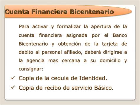 banco bicentenario estado de cuenta banco bicentenario tarjeta de credito cuenta