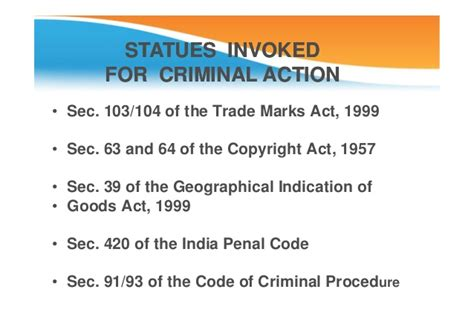 copyright act section 63 microsoft power point intellectual property law trademarks
