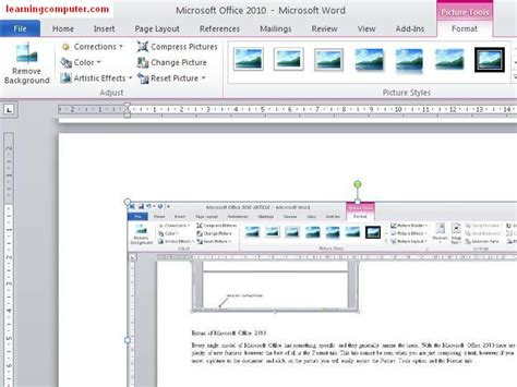 layout in microsoft word microsoft word 2010 tutorial office 2010 training it