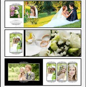 photo album template psd wedding photo album psd templates free
