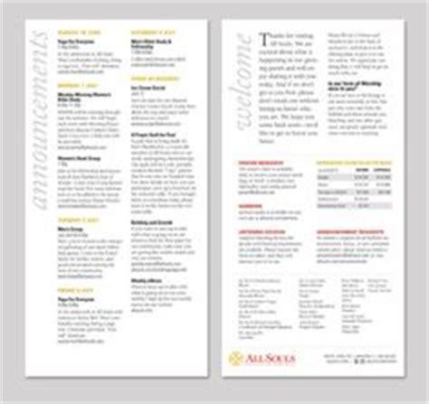 bulletin layout design free church directories directory for churches church