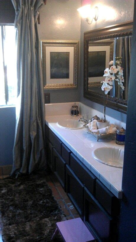 brown and blue bathroom blue and brown bathroom interior design pinterest