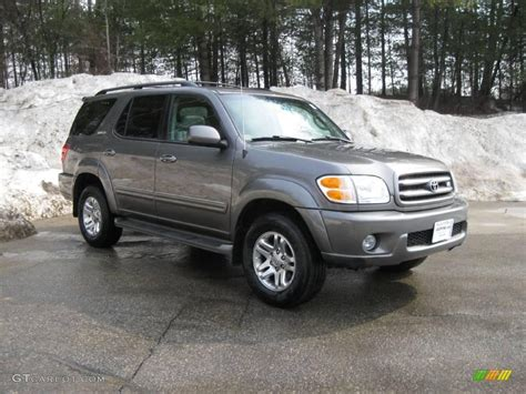 2004 Toyota Sequoia Limited 2004 Phantom Gray Pearl Toyota Sequoia Limited 4x4