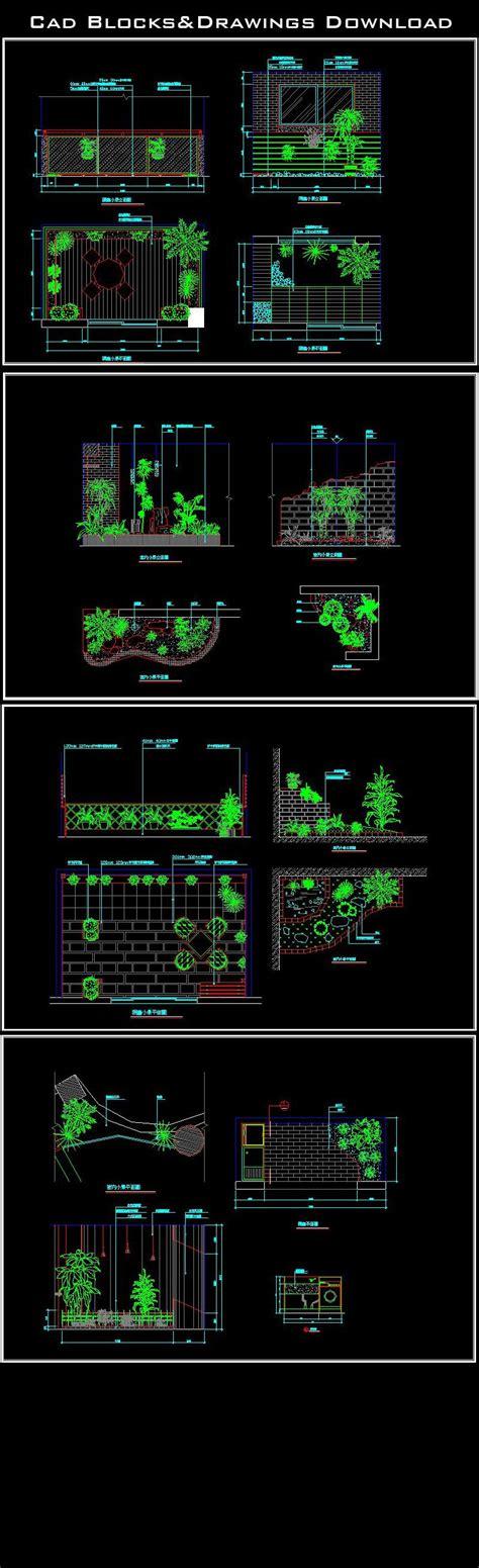 layout elements autocad landscape design landscape design ideas garden design