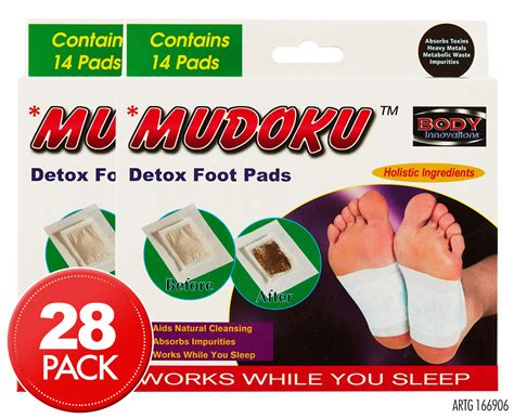 Chi Detox Foot Patches Review by 2 X Mudoku Detox Foot Pads 14pk Great Daily Deals At