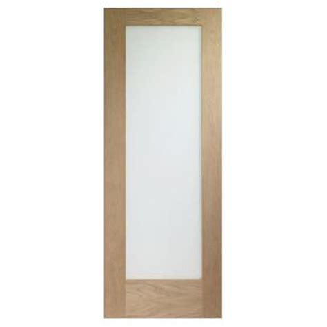Internal Oak Pattern 10 With Clear Glass Fire Door Clear Glass Doors