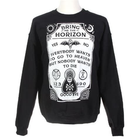 Sweater Bring Me The Horizon Hexagram 1 topic s bring me the horizon ouija crewneck sweatshirt buy in uae apparel