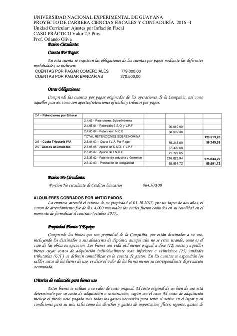 pago rif 2016 caso practico rif 2016 costos por 243 rdenes de pedido