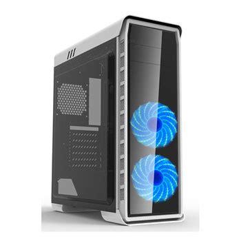 Desktop Lcd Gmx max elysium windowed gaming white with 2x 120mm
