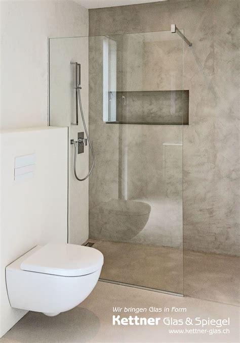 klo mit wasserstrahl und föhn glastrennwand in dusche ihrer glaserei diese