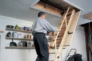 ceiling pull down ladder