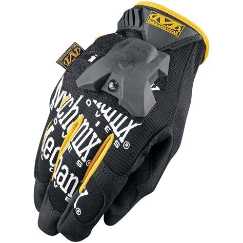 work gloves with lights mechanix wear 174 the original 174 glove light black 227007