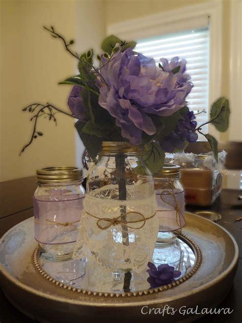 jar centerpieces crafts galaura