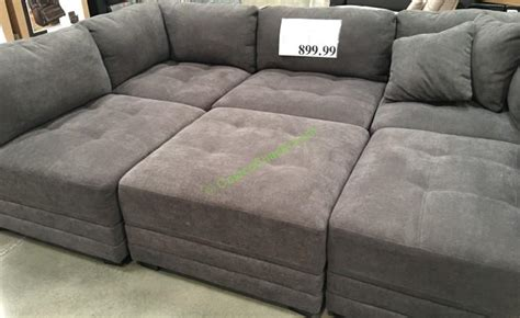 sectional sofas at costco modular sectional sofa costco costco 911353 6pc modular