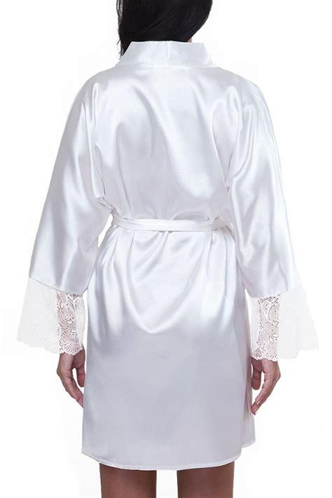 braut kimono spitze morgenmantel f 252 r die moderne braut