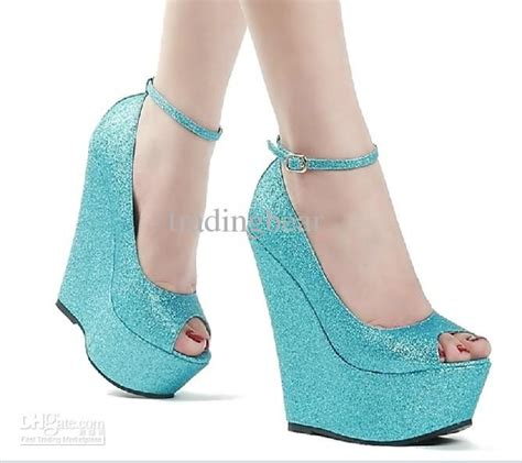 Sparkly Wedges For Wedding by Wedding Sparkly Glitter Silver High Heels For Prom Dress