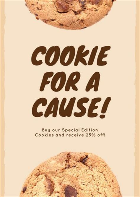 Customize 54 Fundraiser Flyer Templates Online Canva Cookie Flyer Template Free