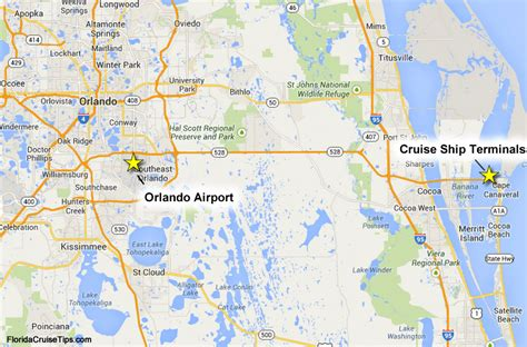 с florida airports near cape canaveral