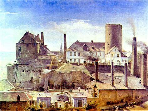 wann begann die industrielle revolution in deutschland fr 252 he fabriken als in burgh 246 fen schlote qualmten