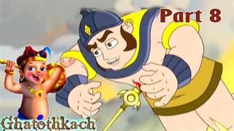 tamil cartoon film youtube ghatothkach tamil animated movie part 8 death of