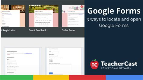 google forms tutorial for teachers video tutorial 3 ways of finding and opening google forms