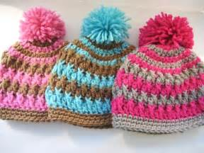 crochet dreamz pom pom beanie for boy or girl crochet