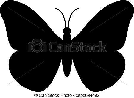 imagenes de mariposas siluetas ilustraciones de vectores de mariposa silueta csp8694492