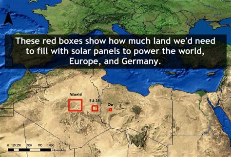 what do i need to about solar panels how much land we would need to supply the world with solar