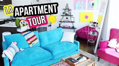 apartment living room tour our 1st place youtube la apartment loft tour laurdiy youtube