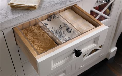 Custom Wood Drawers by Adjustable Drawer Dividers Wood Mode Custom Cabinetry