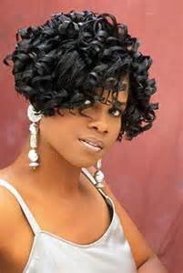 The african american curly bob hairstyle and another cute hairstyle