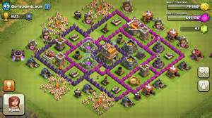 Clash of clans tips town hall level 7 layouts part 2