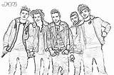 1d Colouring Pages