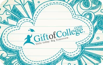 College Savings Gift Card - redeem gift cards