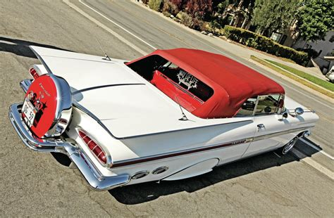 Looking For Upholstery Fabric 1959 Chevrolet Impala Convertible Semi Retired