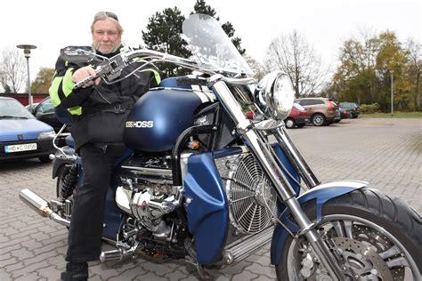 Boss Hoss Motorrad Hubraum by Boss Hoss Leher F 228 Hrt Motorrad Mit V 8 Motor