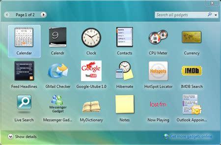 gadget bureau gratuit windows gadgets create vulnerabilities in your computer