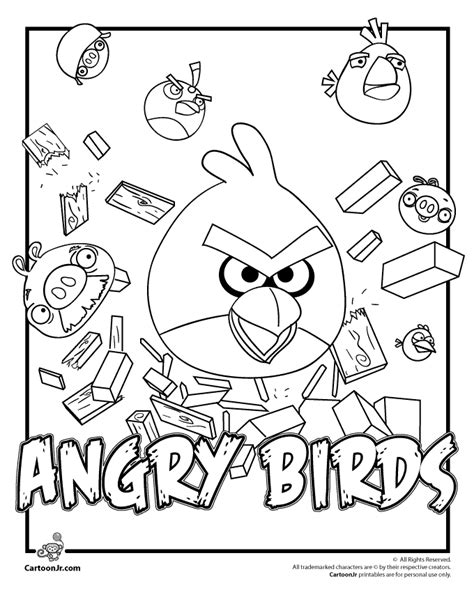 angry birds thanksgiving coloring pages angry birds coloring pages woo jr kids activities