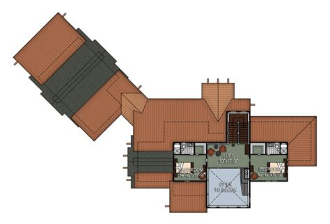 Timber Frame House Plans Canada The Kalispell Floor Plan By Canadian Timber Frames Ltd