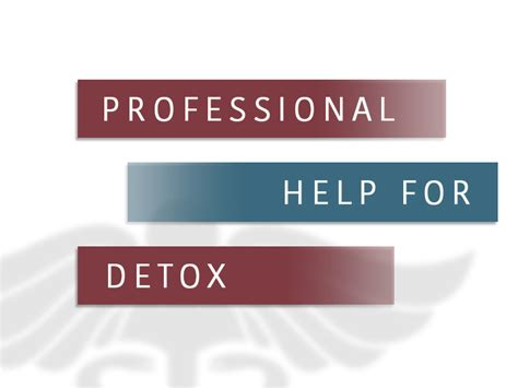 Help For Detox seek professional help for detox addiction and