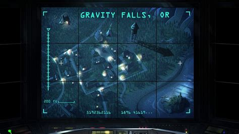 map of oregon gravity falls how big is the town of gravity falls science fiction