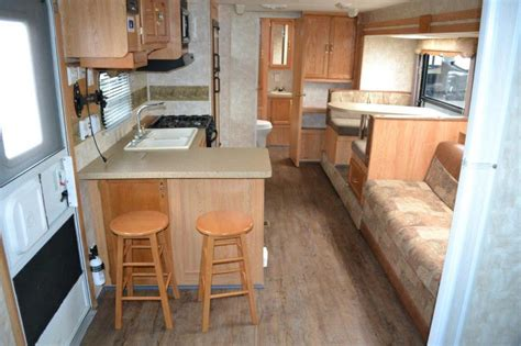Travel Trailer Floor Plans With Bunk Beds by 2007 Forest River Cherokee 28a Travel Trailer Rockford Il