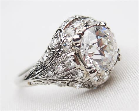 Deco Engagement Rings by Deco Rings Wedding Promise