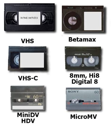 format video hi8 video tape transfer to dvd vhs vhs c betamax 8mm