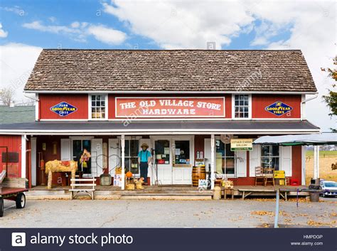 old village store in bird in hand a small town in the
